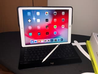 "iPad Pro 12,9"" 64GB Wifi Gold + Pencil + Teclado"