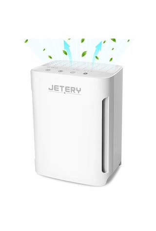 Purificador de Aire con Filtro HEPA Compacto, JETE