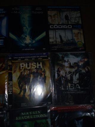 dvd ciencia ficcion 1€/u