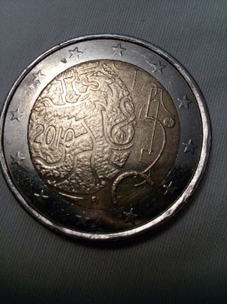 Moneda Finlandia 2010