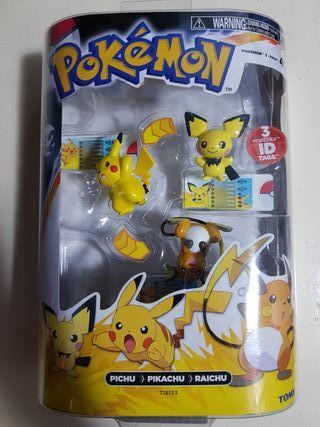 Colección pokemon pikachu
