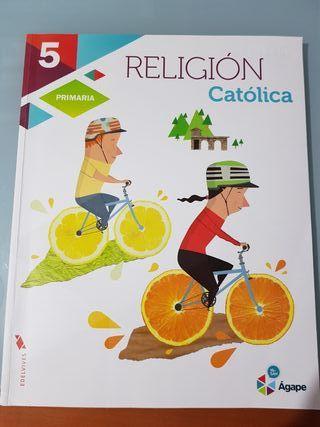 Religión Catolica 5° primaria Ágape