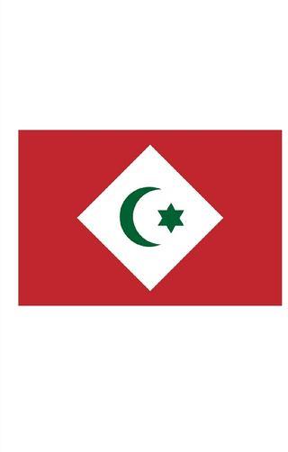 Bandera: República del Rif bandera paisaje | 1.35m