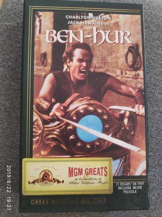 Ben-Hur Ed.especial caja de cartón.vhs