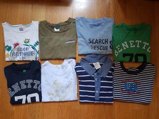 Camisetas 9-12 meses niño