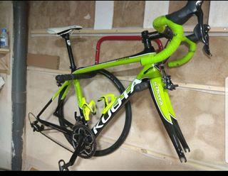 Bici de carretera de carbono (sin ruedas)