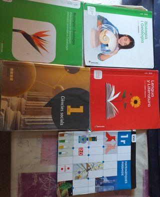 libros 1r ESO