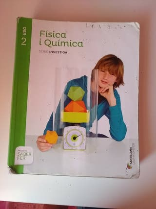 Llibre Física i Química 2on ESO