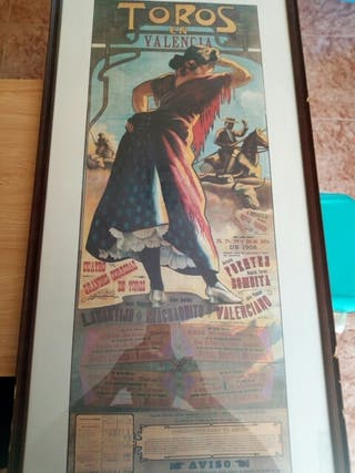 cartel taurino 1906 boceto original