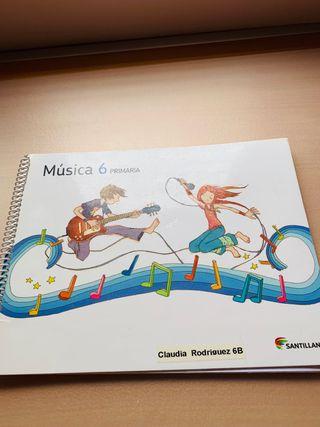 Música 6 primaria