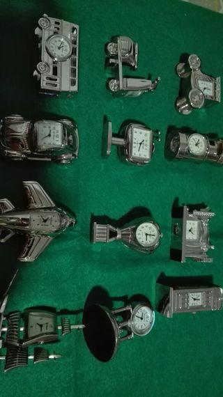 Miniaturas de relojes