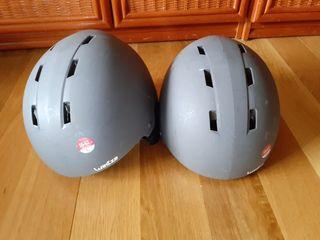 cascos de esqui