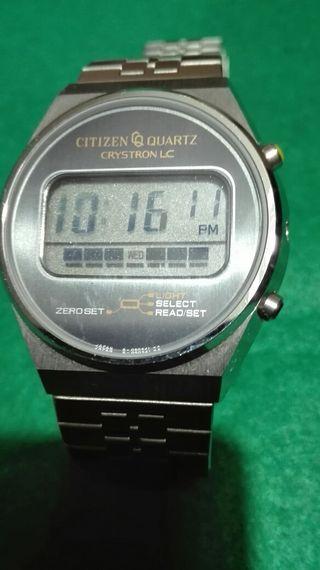Reloj Citizen quartz Lcd