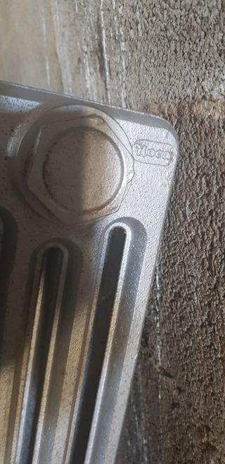 radiadores de hierro fundido Roca