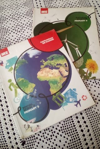 libros naturales y sociales en inglés