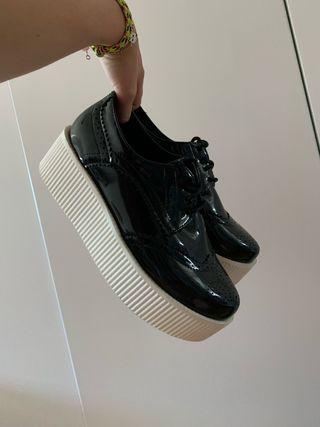 17c7f719 Zapatos Creepers de segunda mano en WALLAPOP