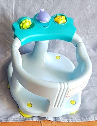 Asiento baño para bebes.