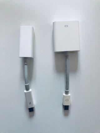 Adaptadores MAC (VGA + Ethernet) Thundebolt