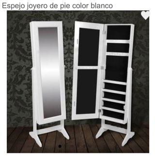 Se vende espejo joyero