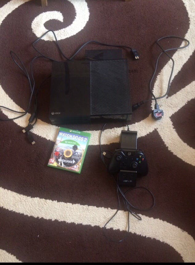 Xbox one fully working with wires