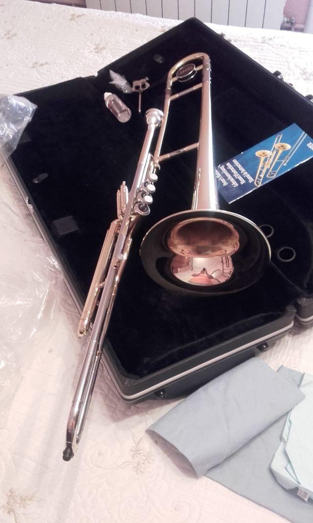 Trombón de pistones