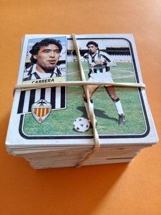 Cromos Futbol Liga 89/90