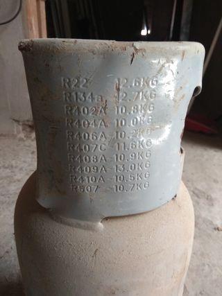 Bombona para gas refrigerante