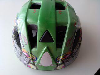 casco bicicleta para Junior