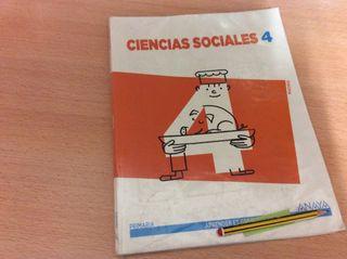 4 ciencias sociales ed Anaya