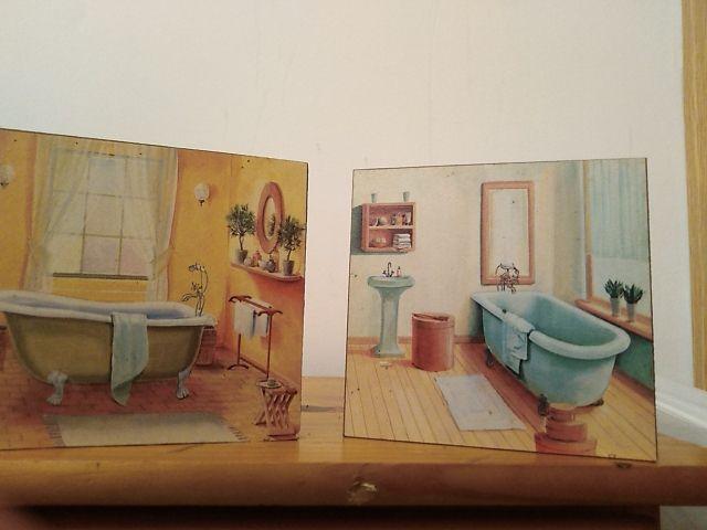 Cuadros para cuarto de baño de segunda mano por 15 € en ...