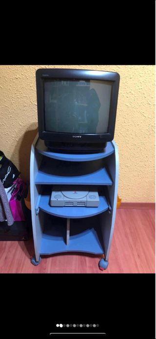 Mueble para tv y consola