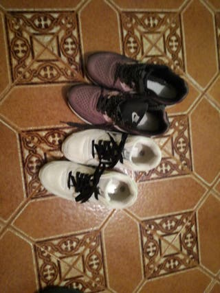 vendo zapatillas son tallas 39y 36 son de mujer