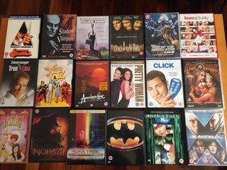 38 DVD movies, 1 PC game