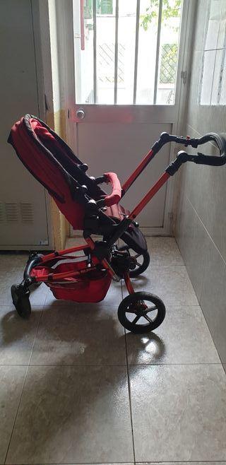 Carro Jané Epic rojo y negro