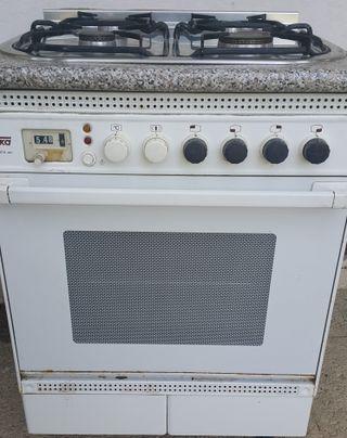 Mueble COCINA de GAS y HORNO ELECTRICO¡