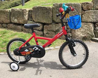 Bicicleta infantil niño niña rueda 16