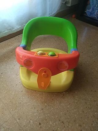 Asiento para bañera bebé