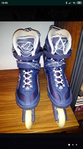 Patines K2 skate athena para mujer