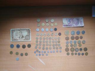 Monedas Antigüas. Varios países, años..etc