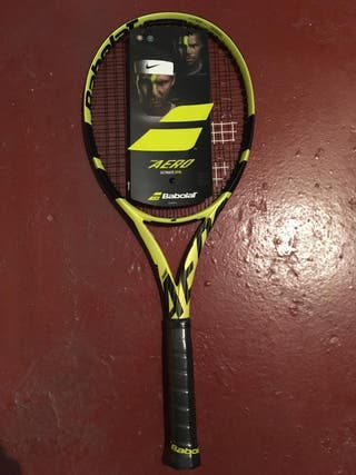 Babolat pure aero ultimate spin grip 4