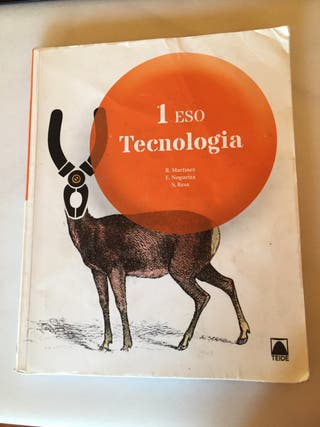 Libro tecnologia 1 ESO Teide