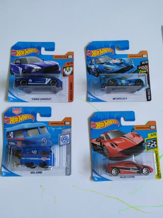 hot wheels nuevo en su blister