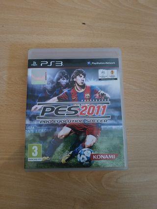 pro evolution soccer 2011 PS3