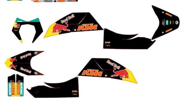Pegatinas KTM 690 SUPERMOTO