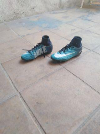 Zapatillas de tacos Nike Mercurial
