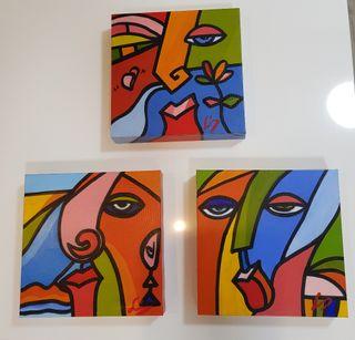 4 Cuadros coloristas