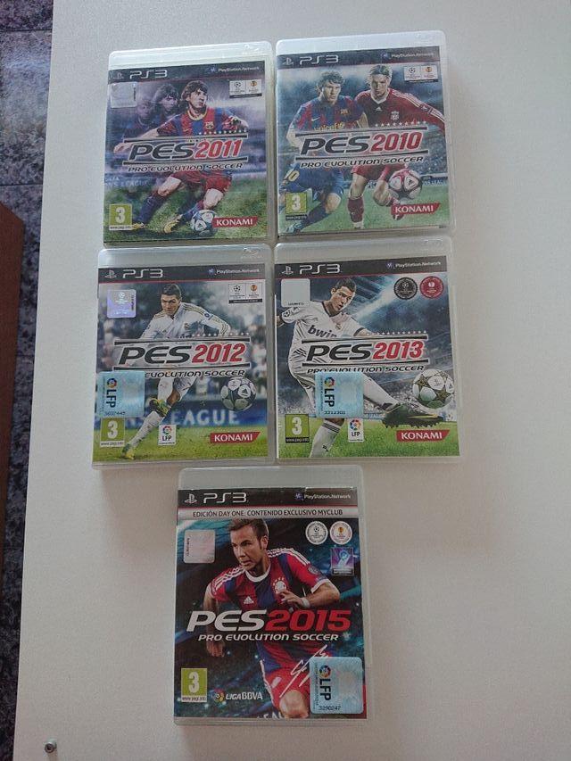 pro evolution soccer ps3
