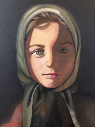 Cuadro/óleo/decoración/retrato