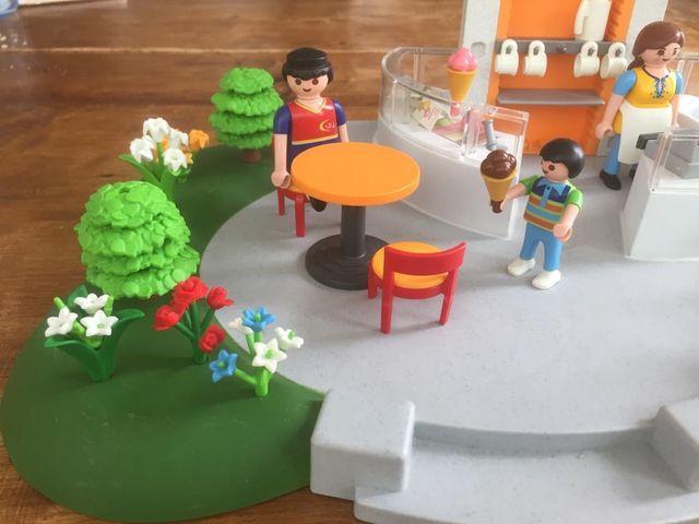 Heladería Playmobil 4134 completa