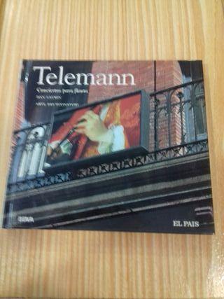 Cd Telemann Conciertos para flauta